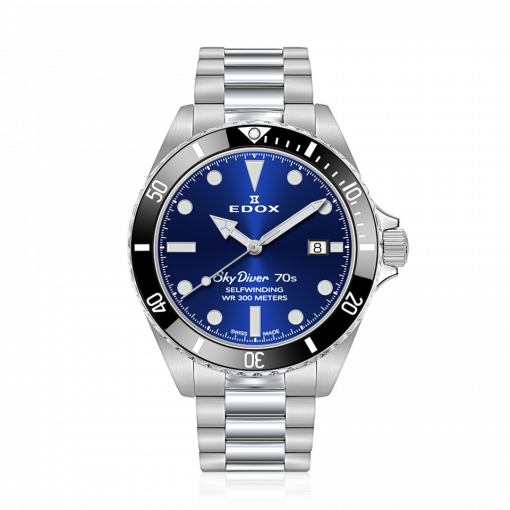 SkyDiver 70s Date Automatic 80115 3N1M BUIN