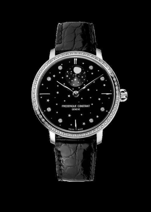 SLIMLINE MOONPHASE STARS FC-701BSD3SD6