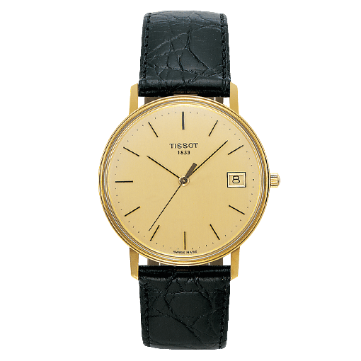 Tissot Goldrun Hesalite 18K Gold T71.3.401.21