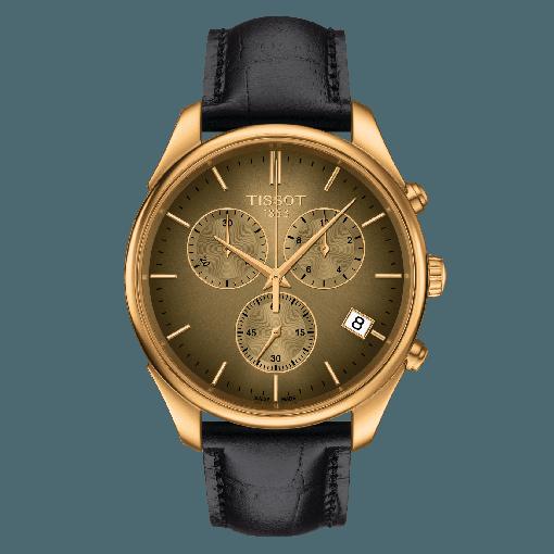 Tissot Vintage Chronograph 18K Gold T920.417.16.291.00